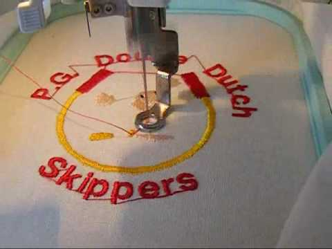 Brother Embroidery Machine Digitizing to Stitches