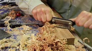 Woodworking Demos: Using Scraper Planes •complete Sharpening Series Video 25