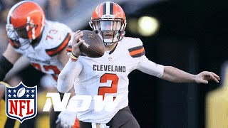 Top 3 Johnny Manziel Plays (2015) | NFL NOW