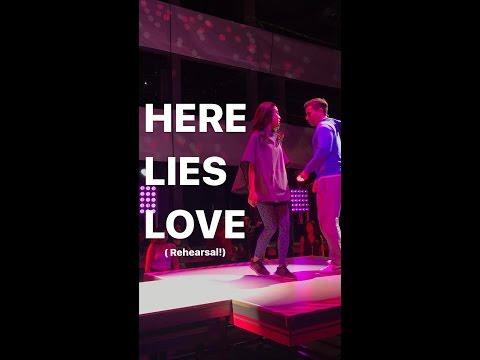 Conrad Ricamora - 'Here Lies Love' Seattle Rehearsal