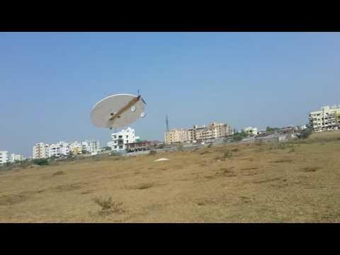 Circular planform aircraft-Flight test