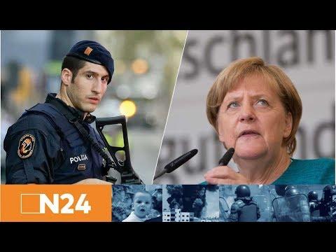 Terror in Spanien: Statement von Bundeskanzlerin Angela Merkel zum Anschlag in Barcelona