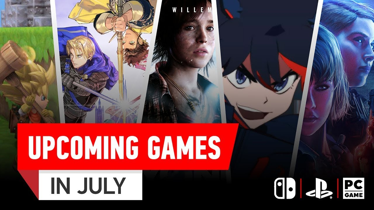 5 Awesome New Games Coming July 2019 10 Hot Topic Youtube