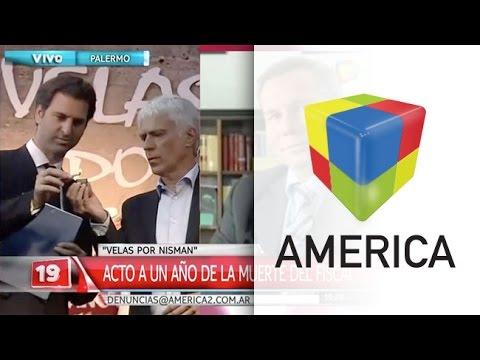 Acto en homenaje a Alberto Nisman a un año de su muerte