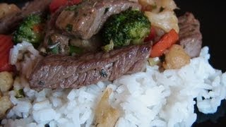 Beef And Vegetable Stir Fry - Super Fast - 6 To 7  Mins. Max.