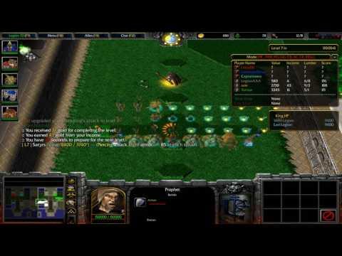 Warcraft 3 - Battlenet - Legion TD HELL v3.98b ( -praccr mode )