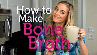 How to Make Bone Broth | Recipe
