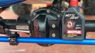How to Replace Front Dana 44 Gear oil and Gasket