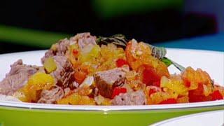 """طاجن اللحم والباذنجان على الطريقة التركية """"أكلة السلطان"""" - إيمان عماري"""
