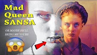 Sansa Stark The Mad Queen Explained - Will Arya Kill Sansa !? Game Of Thrones 7x07