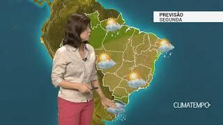 Previsão Brasil – Risco de chuva forte na Região Sul