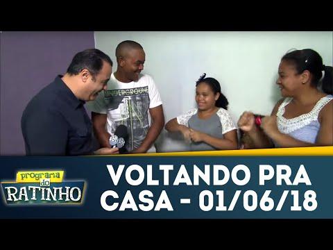 Voltando Pra Casa - Completo | Programa Do Ratinho (01/06/18)
