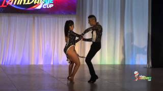 GABRIEL JAÑA & EVA ARAVENA, CHILE, CAMPEONES MUNDIALES BACHATA - WORLD LATIN DANCE CUP 2014