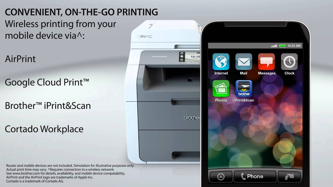 Brother All In One Color Printer