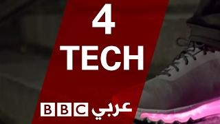 حذاء رياضي يضاء ب 12 مليون لون -4Tech