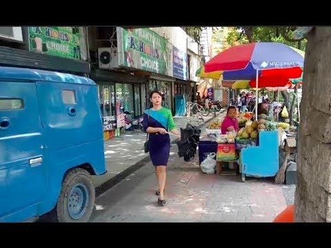 Philippines LIVE - Morning Walk around Cebu City Philippines