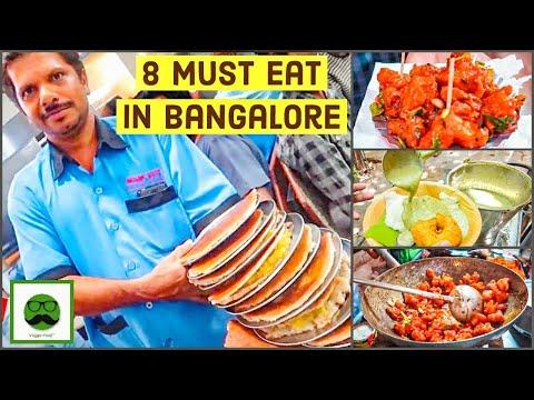 Bangalore Street Food MUST visit Places | Indian Food | Best of Veggie Paaji