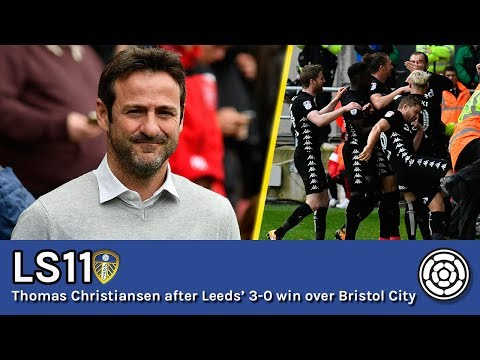 LS11 | Thomas Christiansen after Leeds' 3-0 win over Bristol City