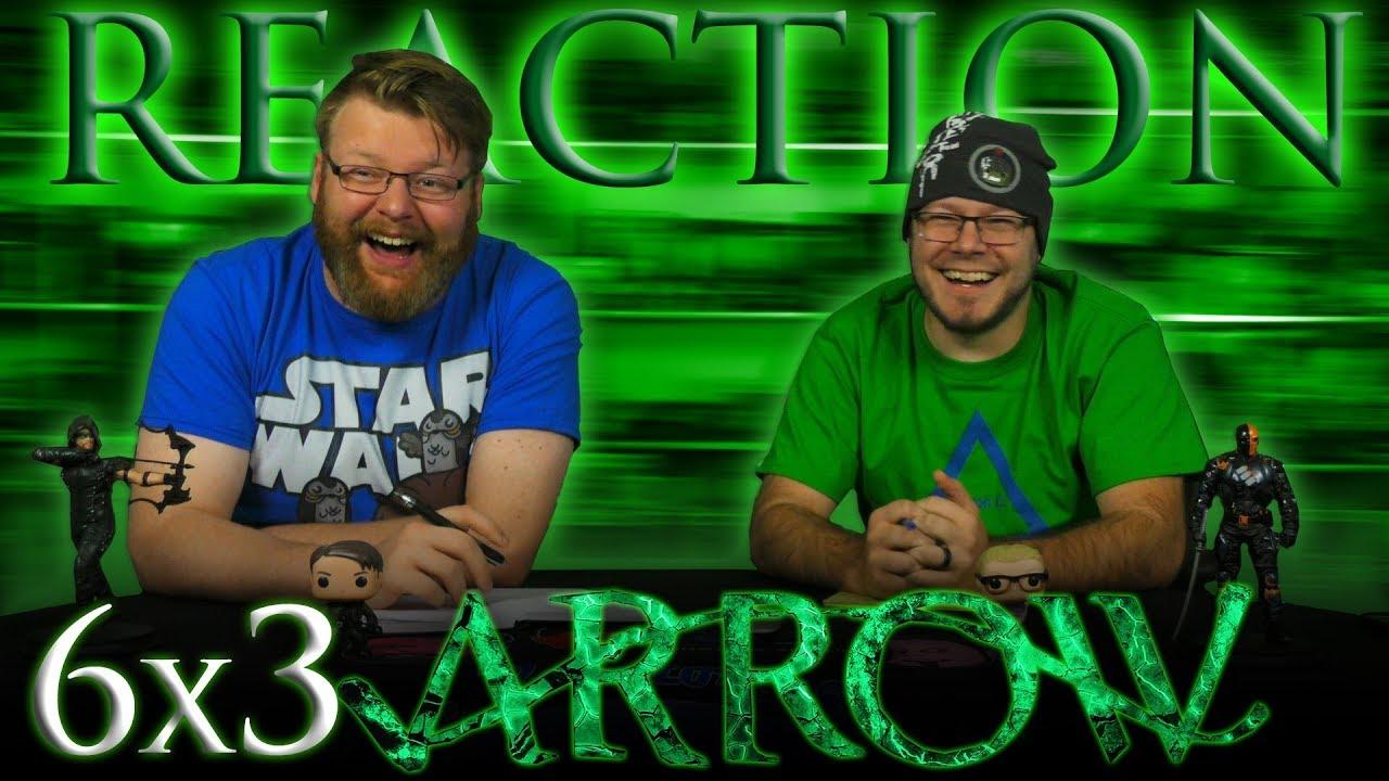 "Download Arrow 6x3 REACTION!! ""Next of Kin"""
