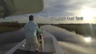 Xpress 185 Skiff | Flats Boat w/ 90hp Yamaha Four Stroke Water Test