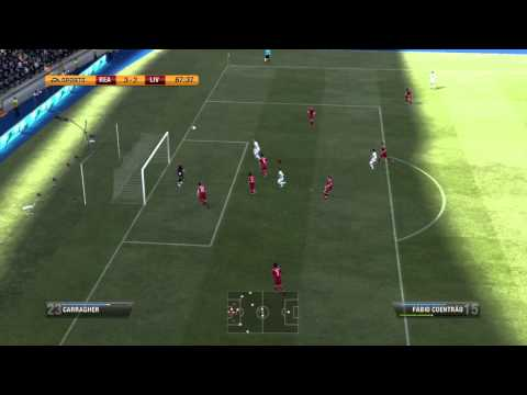 FIFA 12 Gameplay (PS3) - Real Madrid vs Liverpool