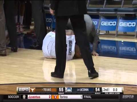 Jonathan Holmes Wins it Over UConn