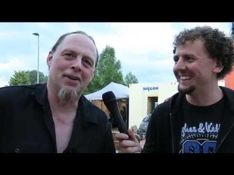 Candlemass guitarist Lars Johansson | Bang Your Head Festival 2016 interview | Hughes & Kettner