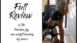 Hands-Free crutches! Freedom Leg Brace instead of iwalk 2.0 - detailed REVIEW