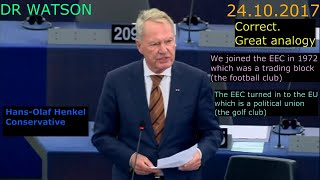 EVERY REMAINER & BREXITER MUST WATCH THIS VIDEO – THIS MEP GETS TO THE HEART OF THE ISSUE