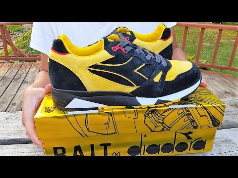 "BAIT X TRANSFORMERS X DIADORA PACK S8000 ""BUMBLE BEE"" Review!!! Super Lmited!!! Only 100 Pairs!"