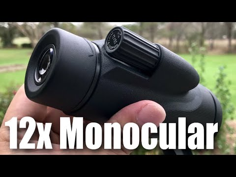 Twod 12X50 Monocular High Definition Spotting Scope Portable With Tripod Review