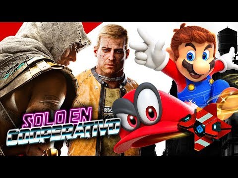 Solo en Coop Live: Mario Odyssey, Assassin's Creed Origins, Destiny 2 PC, Wolfenstein: New Colossus