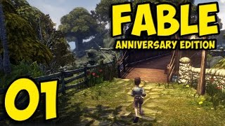 Fable Anniversary ➤ Let's Play Gameplay - Part 1 ( PC Walkthrough )
