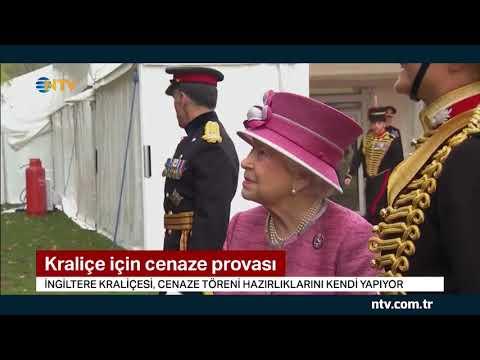 Kraliçe için cenaze provası... (İngiltere Kraliçesi kendi cenaze törenini planlıyor)