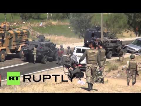 Turkey: Violence erupts