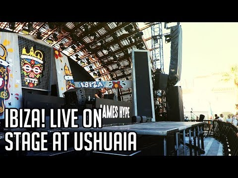IBIZA! LIVE ON STAGE AT USHUAIA PERFORMING MORE THAN FRIENDS