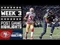 49ers vs. Seahawks | NFL Week 3 Game Highlights