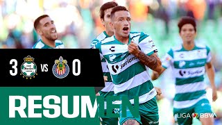 embeded bvideo Resumen | Santos Laguna 3 - 0 Guadalajara | Liga MX - Apertura 2019  - Jornada 1