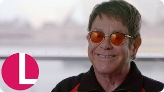 Sir Elton John Doesn't Listen to His Own Music but His Kids Love It! | Lorraine