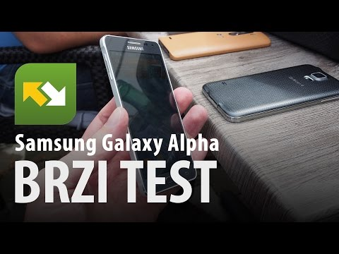 Samsung Galaxy Alpha : brzi test