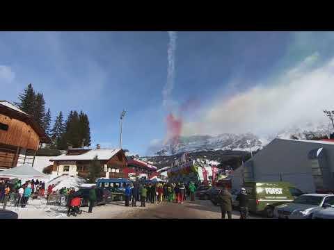 Ski World Cup Alta Badia - Frecce Tricolori 2017