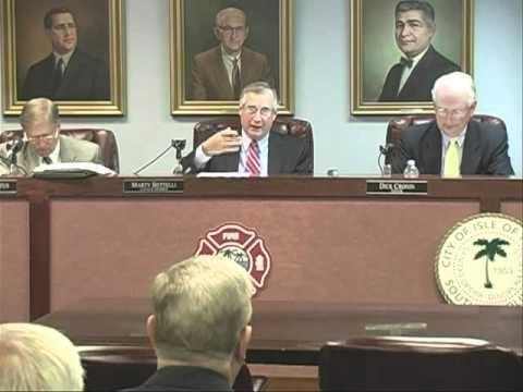 11/15/11, City Council, Isle of Palms, South Carolina