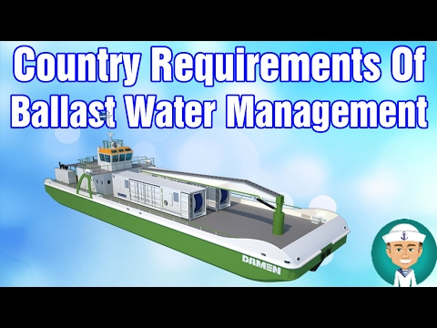 Country Requirements Of Ballast Water Management
