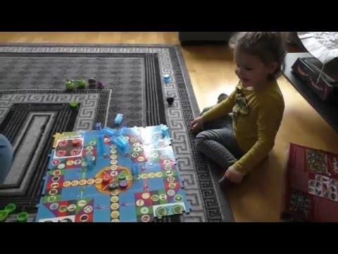 Angry Birds Board Game  Энгри бёрдз настольная игра VLOG Salli