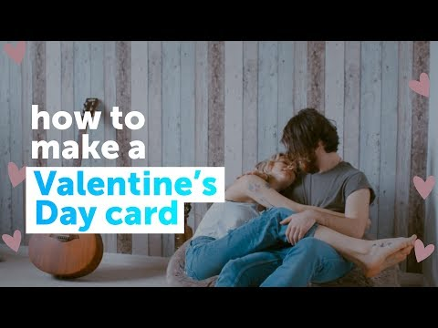How to make a personalized Valentine's Day card | PicsArt Tutorial