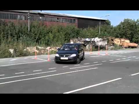 Автошкола Гарант в Егорьевске - Параллельная парковка