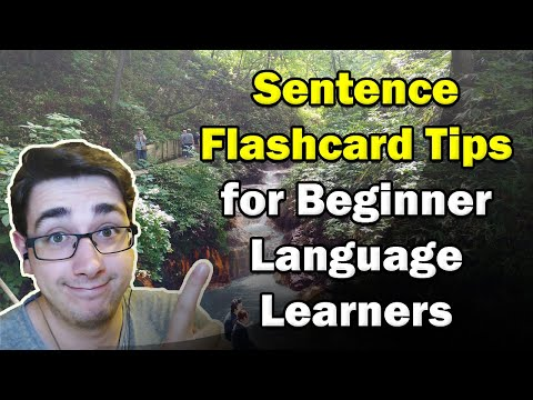 Beginner Sentence Mining And Anki Flashcard Tips