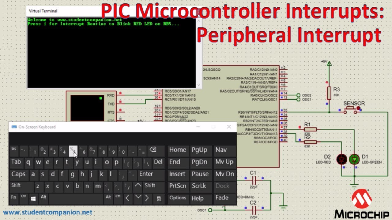 Understanding PIC Microcontroller Interrupts with XC8 and MCC