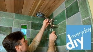How to Install Shower Fixtures -- Buildipedia DIY