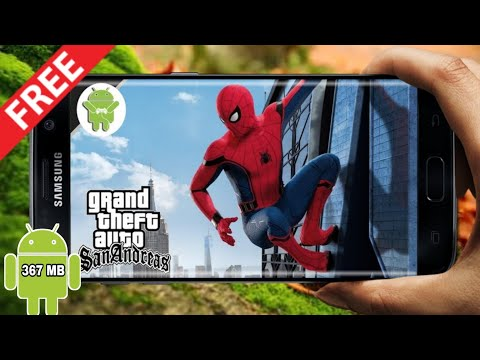 Spider-man Mod Pack With Powers in GTA SA for Android || Androidgaming ||